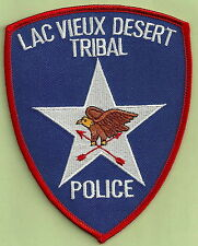LAC VIEUX DESERT CHIPPEWA INDIAN TRIBAL POLICE PATCH