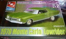 AMT 1970 CHEVY MONTE CARLO LOWRIDER GRNBX 1/25 Model Car Mountain KIT fs