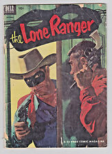 The Lone Ranger #54 Dell Comics 1952 3.0 GD/VG to 3.5 VG- Bandits in Uniform