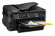 Epson WorkForce WF-7610 All-in-One Color Printer Scanner Copier Wi-Fi Direct