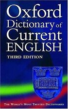 Oxford Dictionary of Current English (2001, Paperback, Revised)