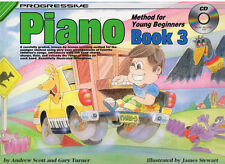 Progressive Piano Method For Young Beginners Book 3 - Same Day P+P