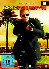 CSI : MIAMI DIE KOMPLETTE DVD SEASON  / STAFFEL 9 DEUTSCH
