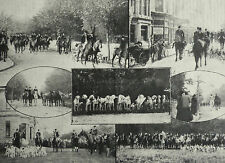 High Street Weston Super Mare Harriers Fox Hunting 1901 Photo Article 7904