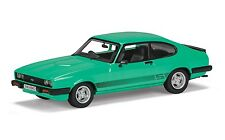 CORGI VANGUARD Ford Capri Mk3 3.0S, Peppermint Sea Green, RHD (UK)  - VA10815A