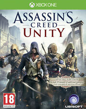 Assassin's Creed Unity Special Edition Xbox One * NEW SEALED PAL *