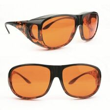 Eschenbach Solar Shields Orange Filter - Small Size FitOver Sunglasses New