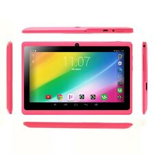 "iRULU 7"" A33 Quad Core Android 4.4.2 KitKat Dual Camera GMS Pink Tablet PC US"