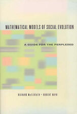 Mathematical Models of Social Evolution: A Guide for the Perplexed by Richard...