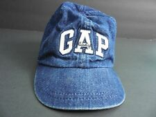 Baby Gap Blue Jean Baseball Cap Hat 12-24 Months X-Large Toddler 100% Cotton