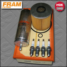 SERVICE KIT BMW 3 SERIES 318I M40 E36 FRAM OIL AIR FUEL FILTER PLUGS (1990-1993)