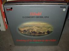 BROWN / HANDEL 12 concerti grossi op 6 ( classical ) 3lp box - philips holland