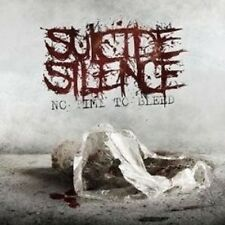 "SUICIDE SILENCE ""NO TIME TO BLEED"" CD NEU"