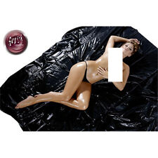 FITTED PVC BED SHEET SEXY DOMINATRIX Waterproof Bondage Sex Aid KING 220 x 220
