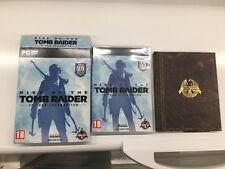 rise of the tomb raider contenitore di pc artbook e Regno Unito cartone no gioco