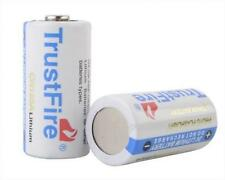 10pcs TrustFire CR123A 1400mAh 3.0V Non-Rechargeable Li-ion Battery White
