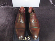 NEW Crockett & Jones AUDLEY Handgrade Brown Calf Leather Shoes ALL SIZE RRP £495