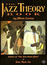 El Jazz teoría Libro Mark Levine Jazz Play Guitar Piano Sax Sher música Libro