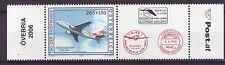 Österreich Nr.  2606 **  Tag der Briefmarke  Airbus A310-300 Zierfeld rechts