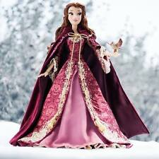 "NIB  Disney Store Beauty & The Beast Limited Edition Belle 17"" Doll"