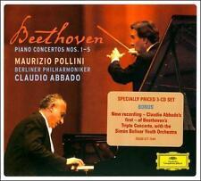 , Beethoven: Piano Concertos Nos. 1-5; Triple Concerto, Excellent Box set
