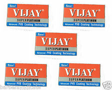 500 blades Vijay Stainless Steel Double Edge Safety Barber Shaving Razor Blades