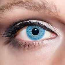 Blaue Kontaktlinsen farbige Hellblaue Linsen Blau Blue Colour Contacts Lens;K101