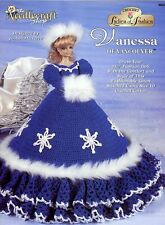 Vanessa of Vancouver Barbie Doll Outfit TNS Crochet PATTERN LEAFLET HTF