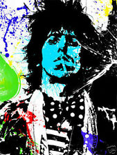 Giant Keith Richards Rolling Stones Pop Art Poster