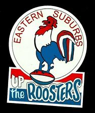 EASTERN SUBURBS ROOSTERS Vinyl Decal Sticker PROMO SYDNEY CITY NRL RUGBY LEAGUE