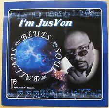 JUSVON – I'M JUSVON – US PARLIAMENT CD (2003) NEO-SOUL/BLUES  NM