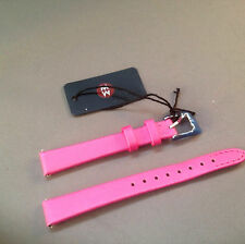 12mm Watch Wrist Bands / Straps By Michele Fuchsia for Swiss Watches
