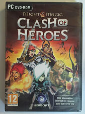 JEU PC neuf _MIGHT AND MAGIC CLASH OF HEROES_ Jeu de Role