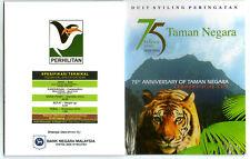 "Malaysia ""75th Anniversary of Taman Negara"" Coin Card"