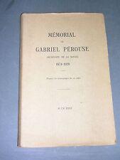 Savoie Chambéry Gabriel Pérouse Mémorial de Gabriel Pérouse 1931
