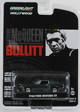 Movie Bullit Steve McQueen 1968 Ford Mustang GT 1:64 Greenlight Hollywood