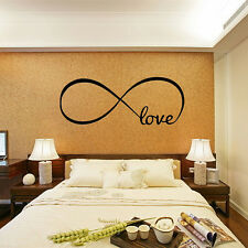 PVC Removable Love Wall Stickers Art Vinyl Quote Decal Mural Home Bedroom Decor