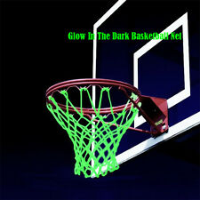 Amazing Glow In The Dark Sun Powered Basketball Hoop Net Shoot Training Gifts