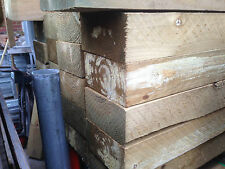 Treated Pine H4 Sleepers 200x100 2.4m Retaining Wall Garden Bed Edging Boxing