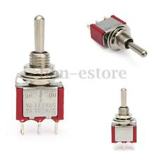 New 3 Position Momentary (On) Off (On) Mini Small Toggle Switch Car Dash SPDT