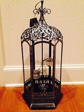 NEW w/ Tags LARGE! Christmas Lantern Pier 1 Centerpiece Candle Tea Light Holder