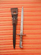 Swiss Army bayonet Swiss Schmidt Rubin K31 Scabbard Leather Neuhausen carbine