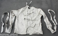 Genuine RESTRAINT mental asylum STRAITJACKET 1952 Soviet madhouse stamped USED