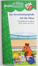 Mini LÜK Heft Die Vorschulolympiade mit der Maus sportlich ab 4 Jahre NEU