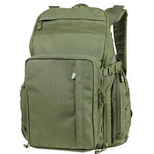CONDOR 166: Bison Backpack Tablet Convertible Nylon Pack - OLIVE DRAB OD GREEN