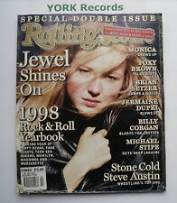 ROLLING STONE MAGAZINE - Issue 802/803 December 24th 1998 - January 7th 1999