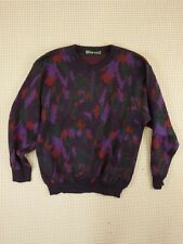 Jumper 80s 90s oversize M unisex cosby abstract geometrical crazy  (EJ200)