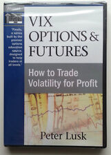 *New DVD* VIX OPTIONS & FUTURES Trade Volatility for Profit by Peter Lusk