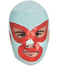 Mens Nacho Libre Mask Deluxe Mexican Wrestling Fancy Dress Mask Lucha Libre Mask