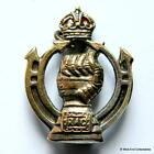 1940s WW2 Royal Armoured Corps - British Army Enamel Sweetheart Brooch Badge